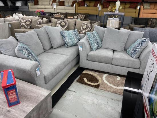 Washington Brothers Sofa and Matching Loveseat