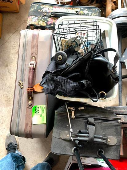 Luggage and basket