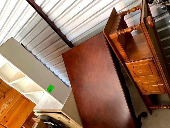 2 coffee tables, 3 drawer 2 shelf dresser