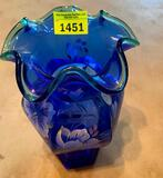 Fenton Glass Vase (Signed)