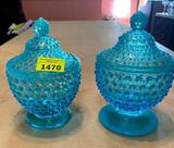 Fenton 2 Covered Dishes