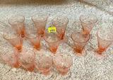 Tiffin & misc Glass