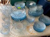Blue Bubble Glassware Crystal