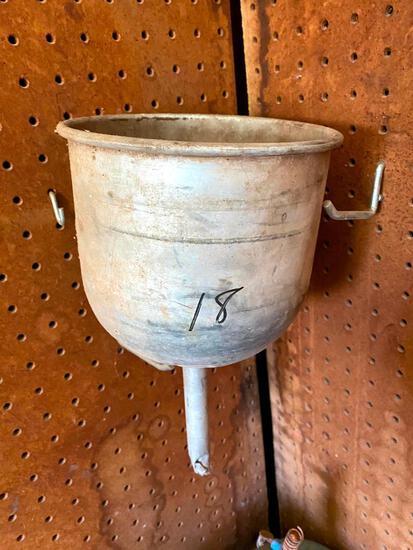 Antique Aluminum Funnel