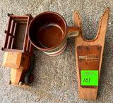 Cup Coasters, Wooden Truck, Shoe Horn