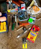Shoe Stretcher, Paint Supply, Roof Hatcher and More