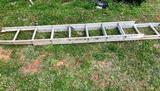 16' Ex Ladder, is bent