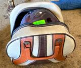 Bowling Ball Bag and Shoes