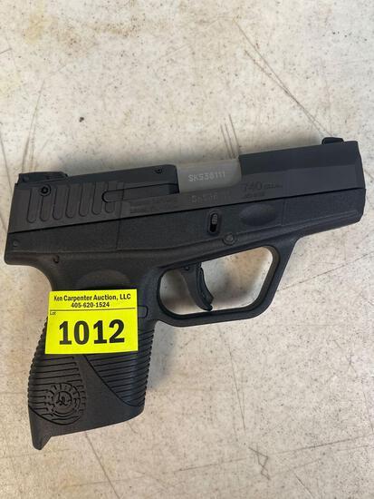 Taurus pistol 740 Slim .40 s&w