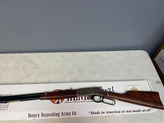 Henry repeating arms 3030 caliber Winchester rifle