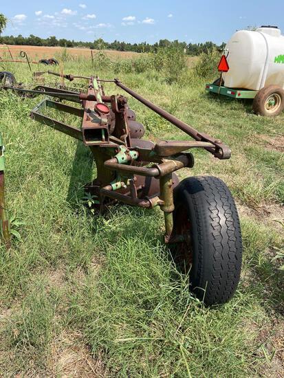 John Deere 5 bottom semi mount plow