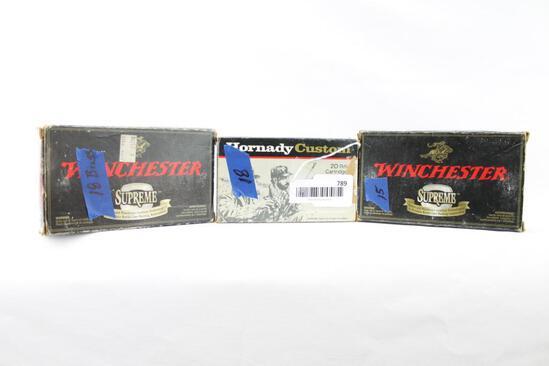7mm Remington Mag ammo & brass