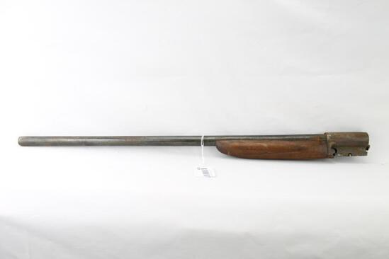 Shotgun barrel & forearm