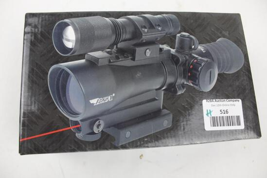 BSA red dot with laser
