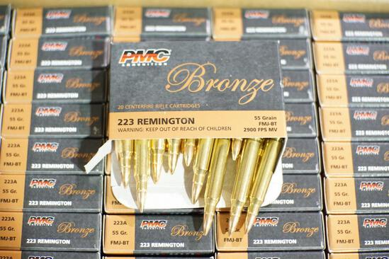 PMC Bronze 223 Ammo