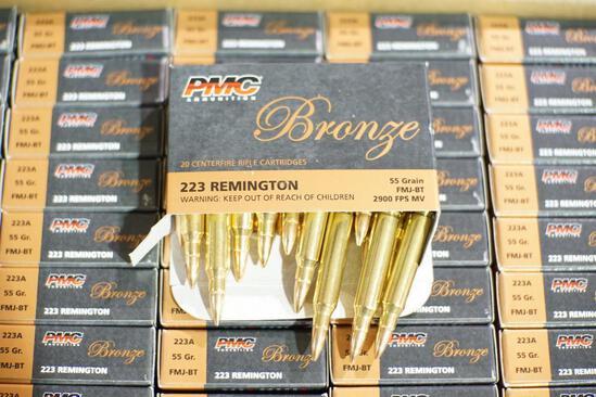PMC Bronze 223 Ammo