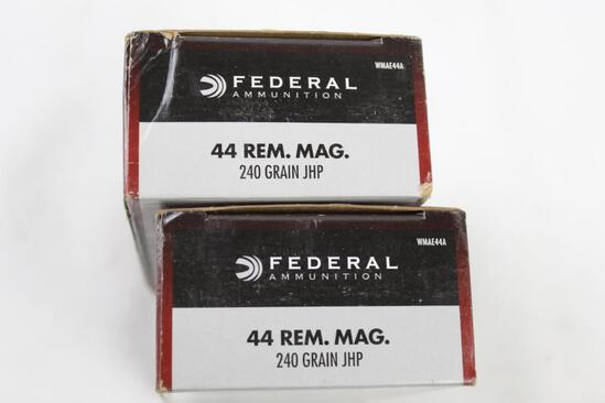 .44 Remington Mag ammo