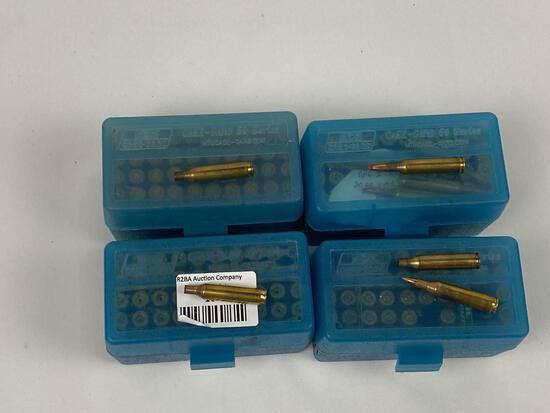 .17 Remington ammo & brass