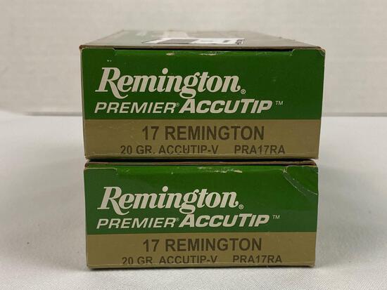 .17 Remington ammo