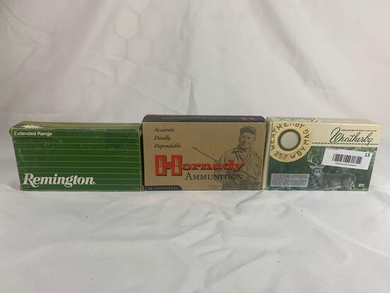 .257 Weatherby ammo
