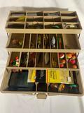 Tackle box, lures & baits