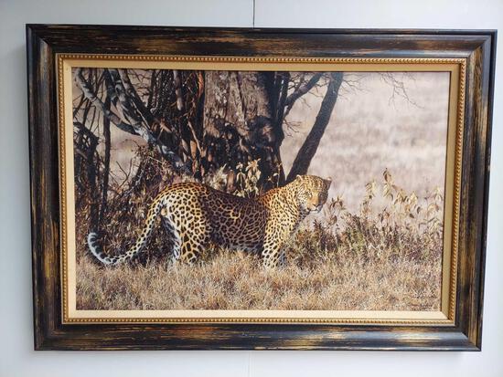Framed Cheetah Art