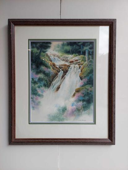 Framed The Crossing II By Joann George