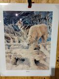 Print Wolves by Ed Tussey