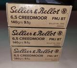 6.5 Creedmoor ammo
