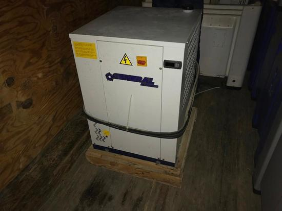 General Air 2 Ton air cooled Glycol Chiller w/ Current Adapters