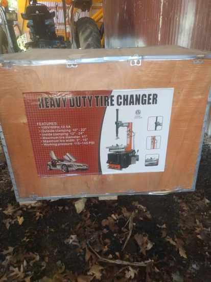 New Heavy Duty Tire Changer