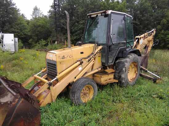 Ford 655D TLB Loader Extendahoe