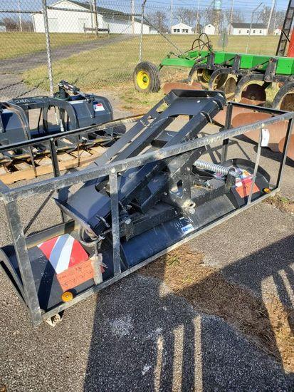 """86"""" skid loader plow attachment"""