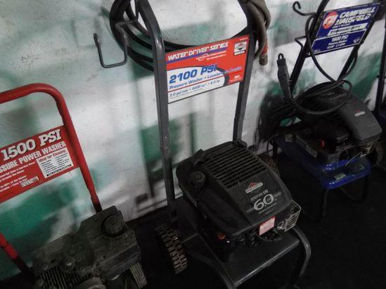 2100 psi briggs pressure washer