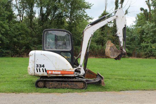 2004 Bobcat 334 Mini Excavator