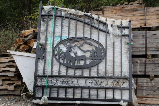 14ft Bi Parting wrought iron gates