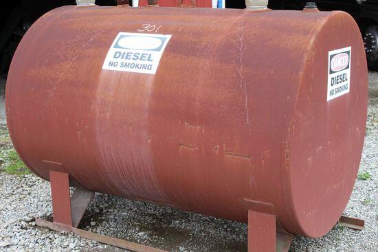 500 Gallon diesel fuel tank (no pumps)