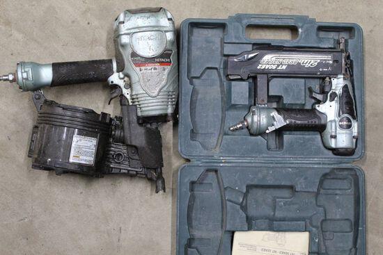 Hitachi brad nailer and Hitachi coil nailer