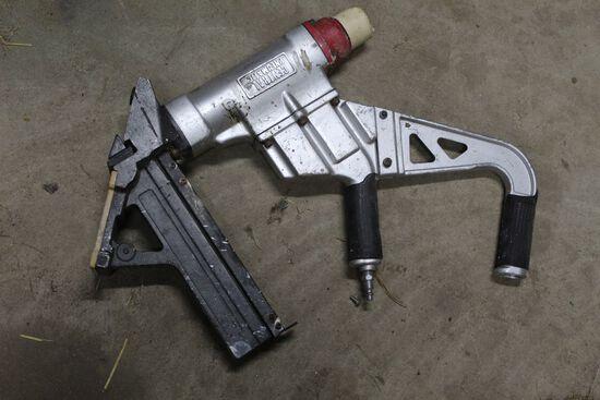 Central Pneumatics Flooring nail gun