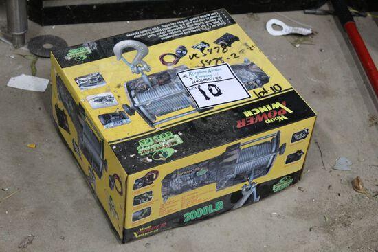 Winch New In Box