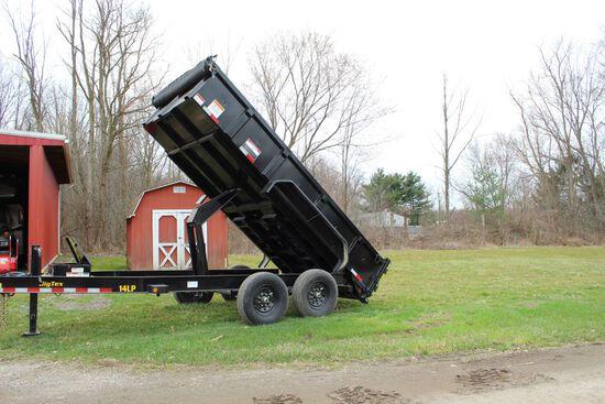 NEW UNUSED 2020 Big Tex 14000 lbs 14ft tandem axel dump trailer