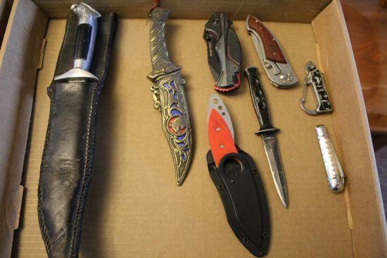 Lot of Pocket Knifes
