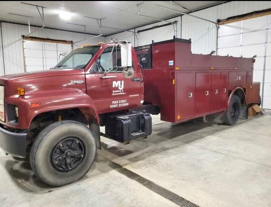 1990 GMC Topkick Service Truck
