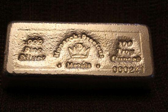 1 Bar of Silver