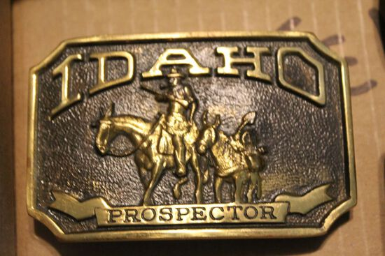 Idaho Prospector Buckle
