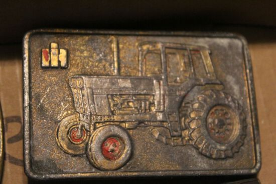 Rockford IL special cast IH buckle