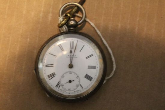 Sterling Silver Kay,s Challenge Pocket watch