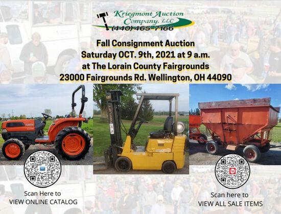 2021 Fall Consignment Auction