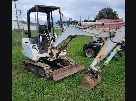 Bobcat 76 Mini excavator