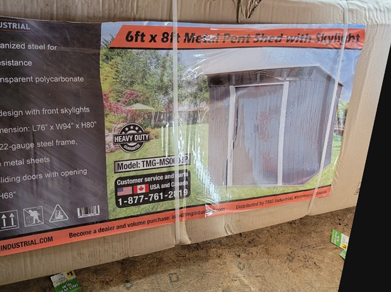 6x8 Shed